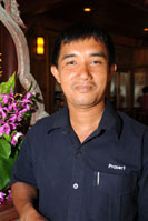 Khun Prasert is our Chief Engineer