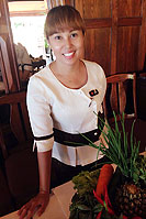 Khun Renu is the Restaurant Manager