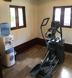 Elliptycal fitness machine